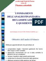 Analisi Di Bilancio Riclassificazione e Quozienti