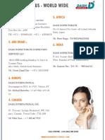 DASH - Overseas Offices