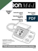 Omron m4 i Users Manual 332434