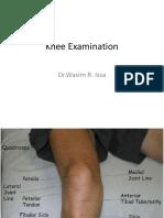 Knee Examination - Copy