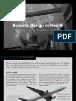 Knauf E-book Acoustic Design in Health