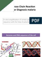 PCR for Diagnosis Malaria.2016.