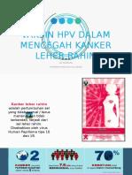 Ppt Penyuluhan Hpv-CA Cervix