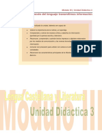 Lengua Literatura Mod III UD 3 R