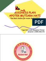 Business Plan Apotek