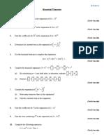 Binomial Theorem 1