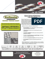 Enroute Features With Rapid Texture