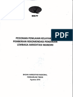 Pedoman Penilaian Kelayakan Pemberian Rekomendasi Pendirian Lam
