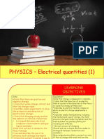 Physics 26 - Electrical Quantities 1