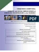 Ubiquitous Computing Paper