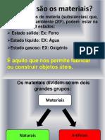 tecnologia processos materiais