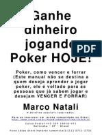 Poker, Como Vencer e Forrar - Marco Natali-Www.livrosGratis
