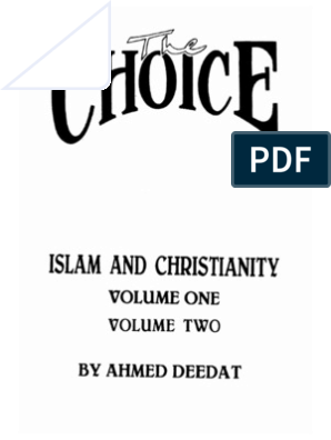 deed at 1 choice volume books the ahmed