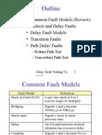 6 Delay Fault Testing Tutorial