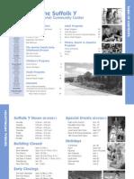 Suffolk Y JCC Fall 2010 Program Guide