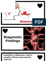 Aneurysm Diagnostics and Mgt