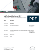 2nd Technical Workshop 2017