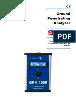 Gpa 1000 v15 Users Manual 3 2