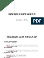 Database Dalam Delphi II