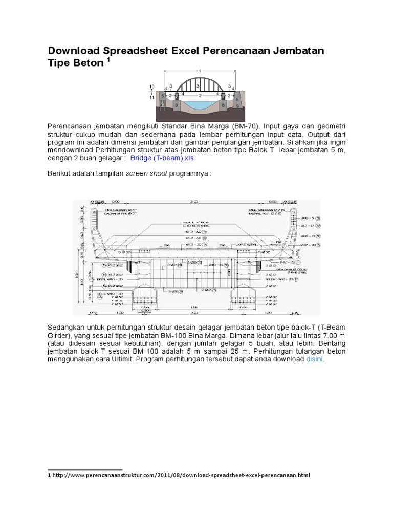341850013 download spreadsheet excel perencanaan jembatan tipe beton 341850013 download spreadsheet excel perencanaan jembatan tipe beton docxcx ccuart Image collections