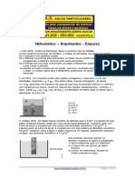 Hidrostatica-Arquimedes-Empuxo