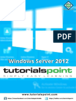 Windows Server 2012 Tutorial