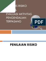 Bahan Analisa Resiko Dan Aktivitas Pengendalian