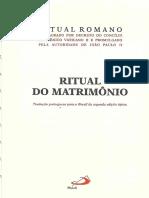 Ritual Do Matrimônio - Introdução