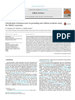 Classification of Human Errors in Gounding and Collision Accidents Using TRACEr Taxonomy