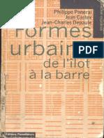 LIVRE FORME URBAINE DE LILOT A LA BARRE ... Philippe Panerai.pdf