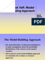 VaR Model Building Approach