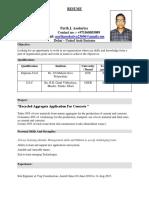Parth Asodariya Resume