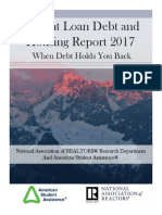 2017 Student Loan Debt and Housing Report