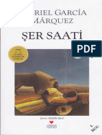 Gabriel Garcia Marquez - Şer Saati