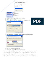 Cara Instal Generic MiniPrinter
