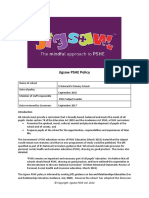 St Bernard's PHSE Policy 2017