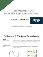Materi Teknik Radio