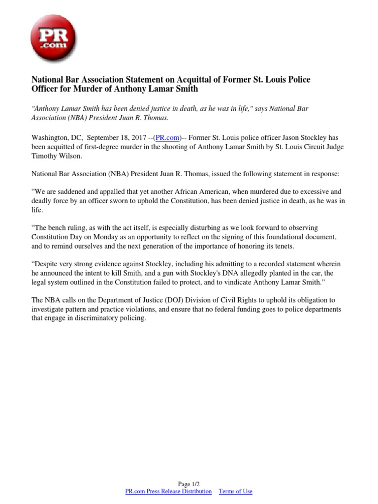 police officer statement