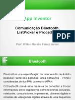 Construção de um app de bate papo utilizando rede Bluetooth com App Inventor