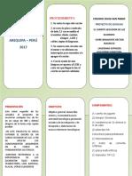 TRIFOLIADO Proyecto Ciencias