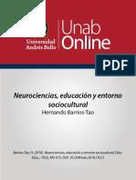MDS501 s3 Neuro Sociocultural