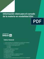 Informaci-n Clave EDH