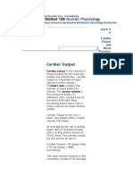 Cardiac Output and Blood Pressure MAP