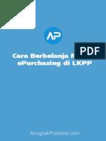 Cara Belanja Di LKPP AnugrahPratama.com