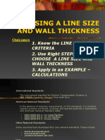 6. Sizing and Wall Thickness
