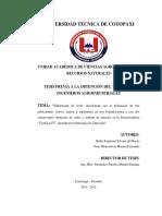 Rubio y Pozo,2012) en su tesis Elaboración de una leche chocolatada con la utilización de tres edulcorantes.pdf
