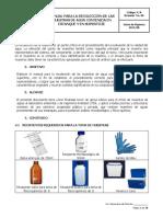 Manual de toma de muestra