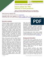 THC Position Paper EIHA_170918