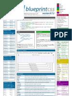 Blueprint CSS framework version 0.7.2 cheat sheet