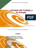 Presentacion Principio Del Trabajo y La Energia